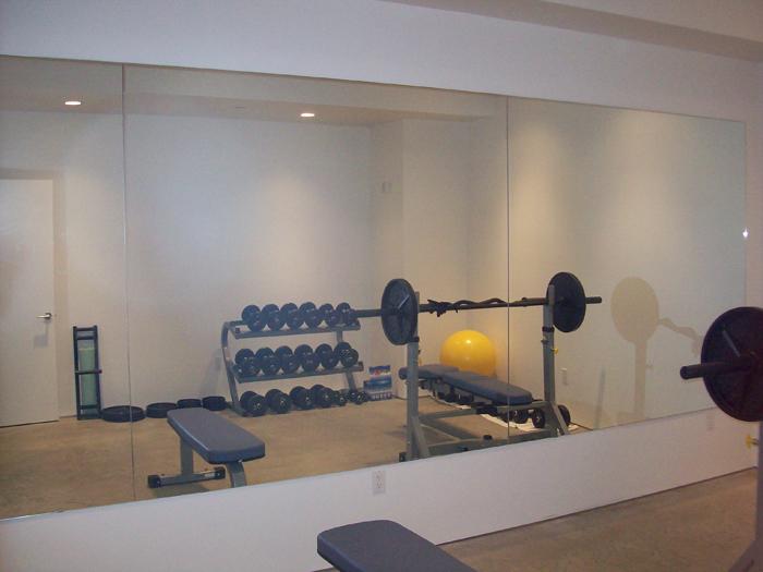Home gym glass canada inc